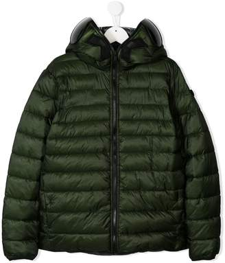 AI Riders On The Storm padded jacket