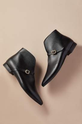 All Black Pointed Boots