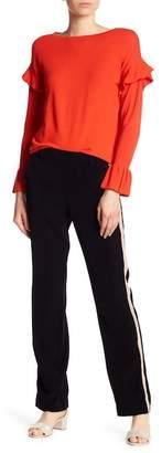 Dex Side Stripe Straight Leg Pants