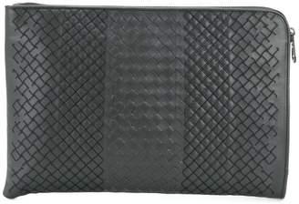 Bottega Veneta ardoise Intrecciato aurelio calf briefcase