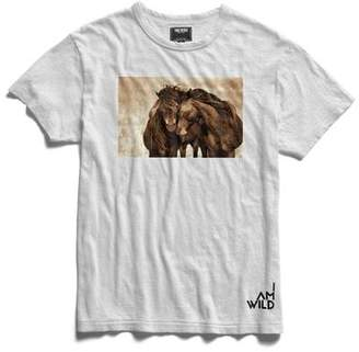 Todd Snyder IAMWILD® Horse Graphic Tee In White