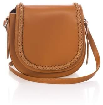 Lisa Minardi Braided Leather Crossbody Bag 3e69f3d4a5499