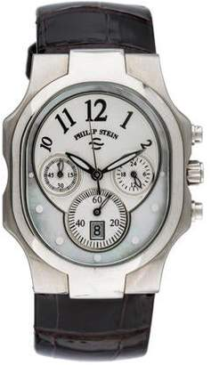 Philip Stein Teslar Signature Classic Chronograph Watch