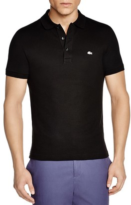 Lacoste Stretch Slim Fit Polo $98 thestylecure.com