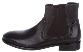 John Varvatos Leather Chelsea Boots