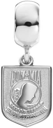 "Insignia Collection Sterling Silver ""POW MIA"" Charm"