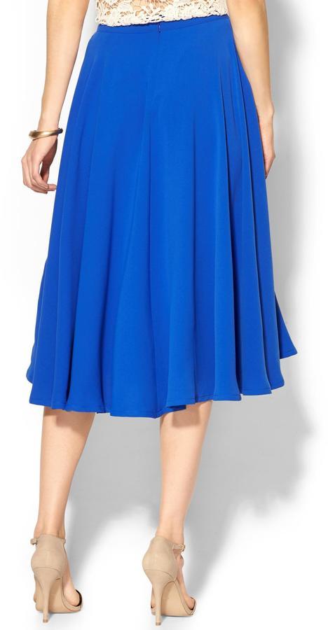 Pim + Larkin Basic Midi Skirt
