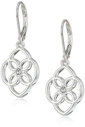 Chaps Women's tone Openwork Drop Earrings
