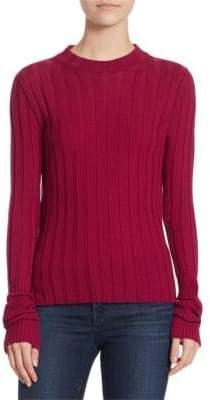 Theory Wide Rib Merino Wool Sweater