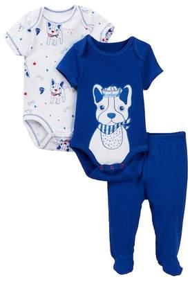 Vitamins Baby Nautical Frenchie Bodysuits & Pants Set (Baby Boys)