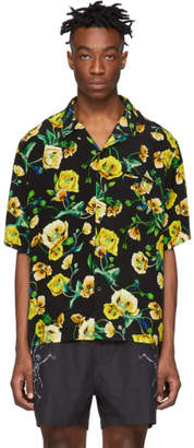 Stolen Girlfriends Club Black Hawaiian Short Sleeve Shirt