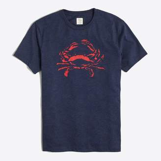 J.Crew Factory J.Crew Mercantile Broken-in crab T-shirt