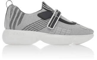 Prada Cloudbust Nylon Slip On Sneakers