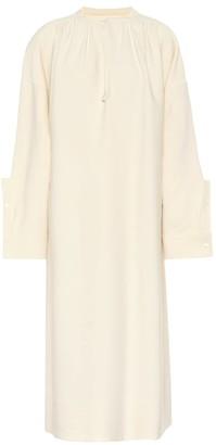 Jil Sander Wool and silk blend dress