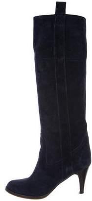 L'Autre Chose Suede Knee-High Boots