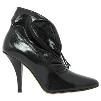 Paul & Joe Black Patent leather Ankle boots