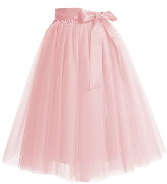 64580498d Omelas Women Girls Short Midi Tulle Tutu Skirt A-line Ballet Party Dress