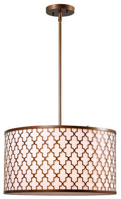 Wildon Home Azalea 3-Light Pendant