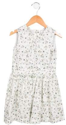 Marie Chantal Girls' Spring Bloom A-Line Dress