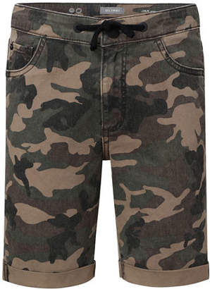 DL1961 Premium Denim Boys' Jax Camo Utility Shorts, Size 8-18