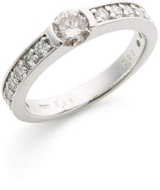 Oriental Diamond PT900 ダイヤモンド ハーフエタニティ リング プラチナ 14
