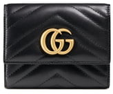 e7d641c2602b Gucci Medium Marmont 2.0 Leather Bifold Wallet