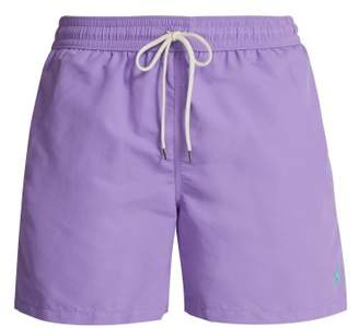Polo Ralph Lauren Block Colour Swim Shorts - Mens - Purple