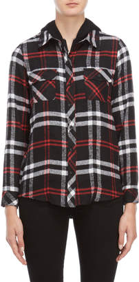 SONO Ci Hooded Flannel Shirt