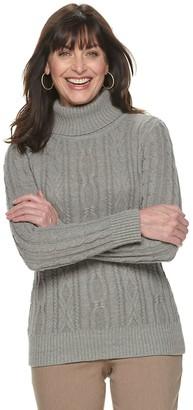 Croft & Barrow Women's Knitted Sweater