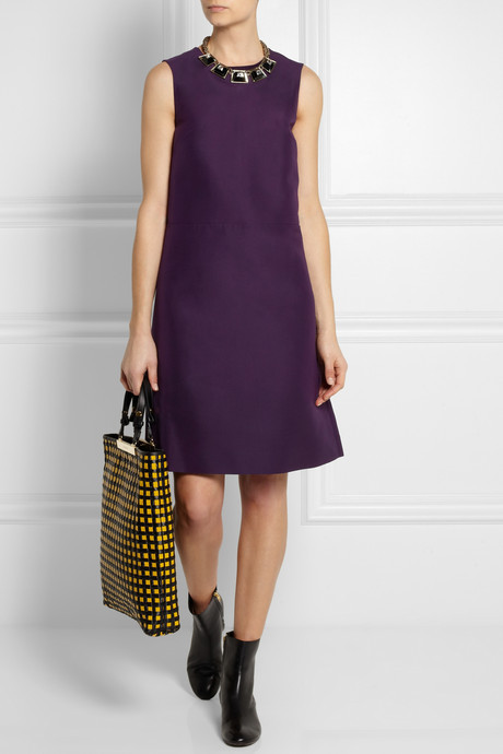 Marni Cotton-cady shift dress