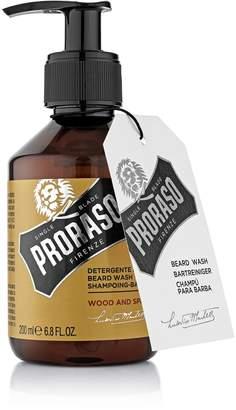 Proraso Single Blade Beard Wash, Wood and Spice, 6.8 fl. Oz