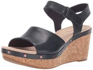 820a3e665cf Clarks Women s Annadel Clover Wedge Sandal 100 ...
