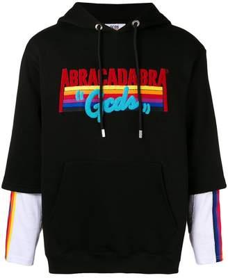 Abracada Bra Gcds Abracadabra rainbow hoodie