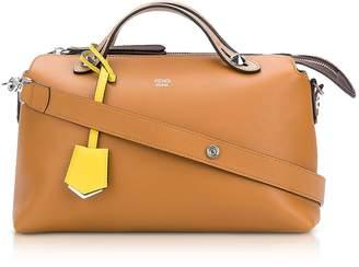 Fendi By The Way Caramel Leather Satchel Bag