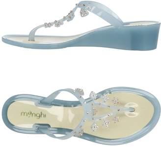 Menghi Toe strap sandals