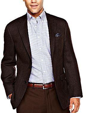 JCPenney Stafford® Merino Wool Sport Coat