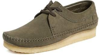 Clarks Weaver Suede Shoes