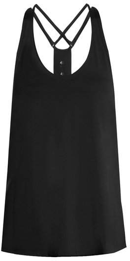TRACK & BLISS Cut-out Stars performance tank top
