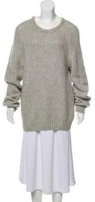 Dolce & Gabbana Wool Scoop Neck Sweater