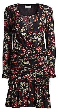 A.L.C. Women's Haven Silk Floral Dress