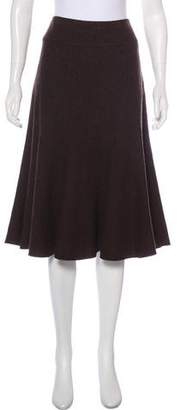 Max Mara Weekend Wool Midi Skirt