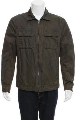John Varvatos Waxed Cotton Field Jacket
