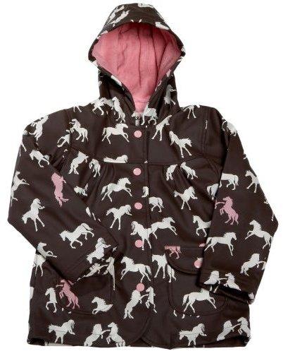 Hatley Toddler/Little Kid Wild Horses Rain Coat