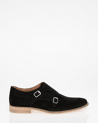 Le Château Suede Double Monk Shoe