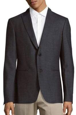 John Varvatos Austin Fit Stretch Wool Sportcoat