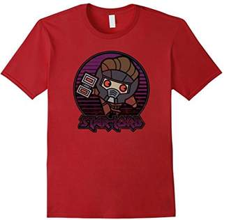 Marvel Star-Lord Guardians of Galaxy Kawaii Graphic T-Shirt