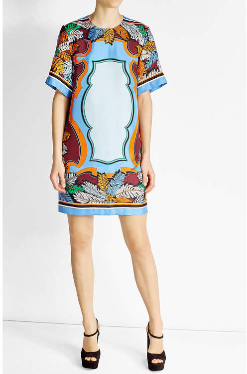 Emilio Pucci Emilio Pucci Printed Silk Dress