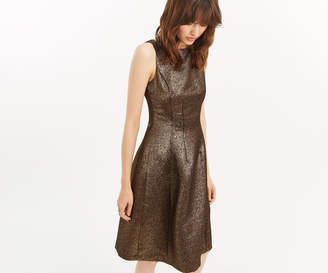 Oasis GOLD TWEED DRESS