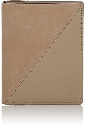 WANT Les Essentiels Men's Bradley Nubuck & Suede Bi-Fold Wallet