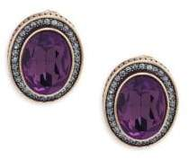 Heidi Daus Crystal Oval Earrings